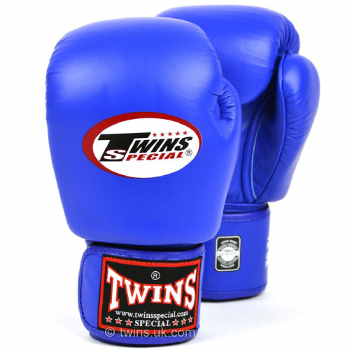 Twins Standard Boxing Gloves - Blue